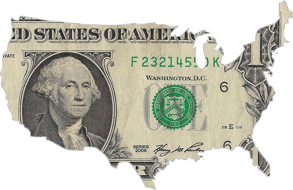 USA a dolar