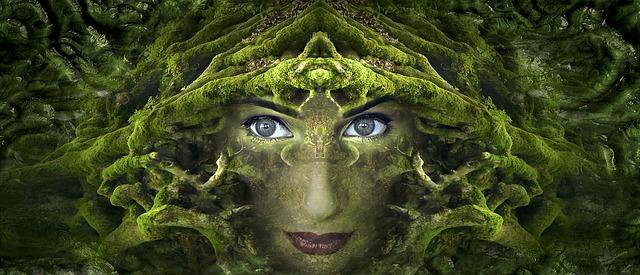 lesní bytost