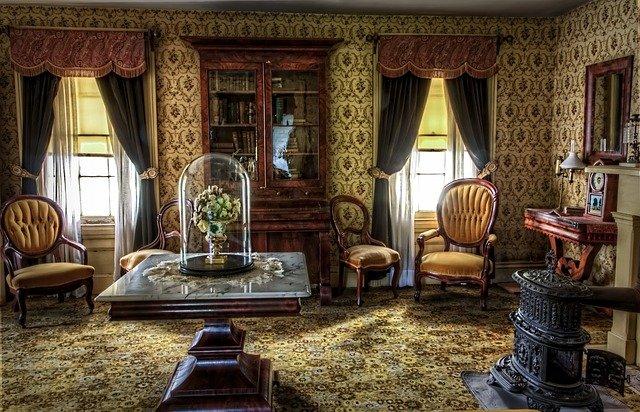 obývací pokoj viktoriánský