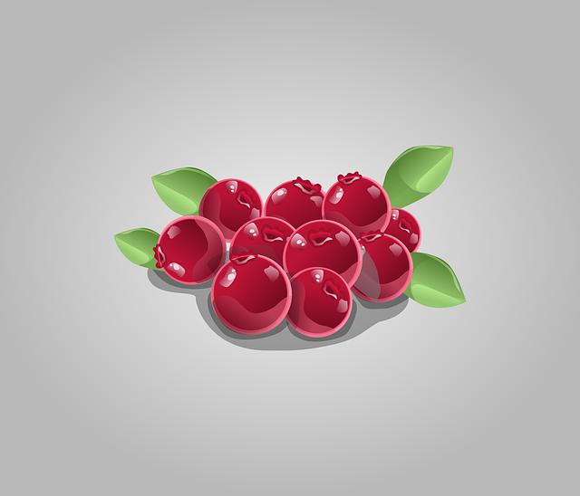 červené bobule